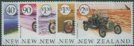 NZ SG2639-43 Veteran Vehicles set of 5